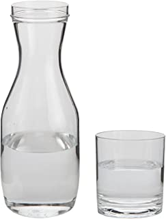 night carafe and glass