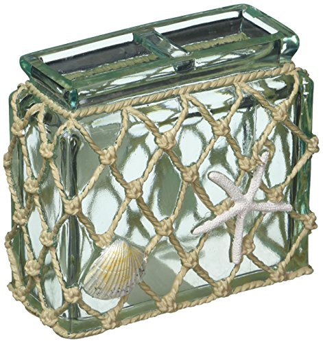 Avanti Linens 13675BMUL Seaglass Toothbrush Holder, Medium, Multicolor