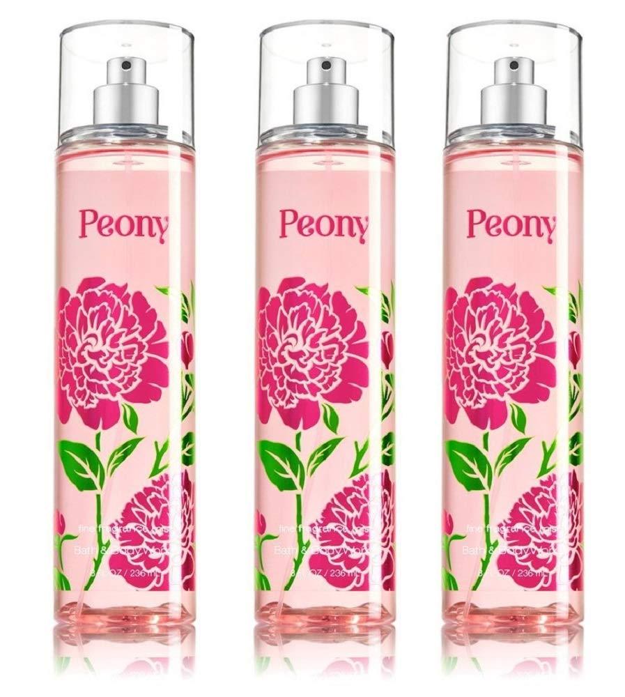 Bath Body Works Max 48% OFF Fine Fragrance Cheap SALE Start Pack 3 Mist Peony