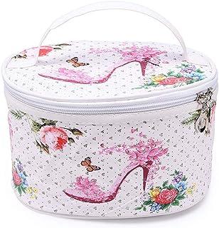 メイクポーチ Akane 人気 ファッション 可愛い スポット パターン 化粧品入れ 便利 大容量 旅行 レディース 防水 激安 化粧ポーチ (5色) (C)