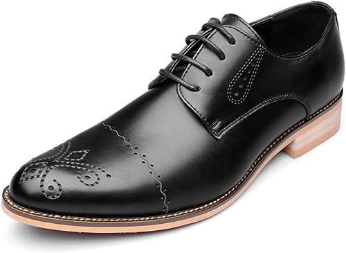 DHFUD Herbst Und Winter Herrenschuhe Business Schuhe Herren Kleid England Herren Werkzeug Schuhe