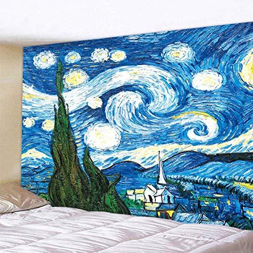 N/A Impresión 3D de tapices Pintura al óleo Tapiz Mandala Colgante de Pared Playa de Arena Toalla de Picnic Alfombra Manta Colchón Dormitorio decoración Pared 130 CM X 150 CM
