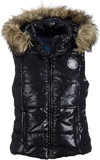 Women's Puffer Fur Vest