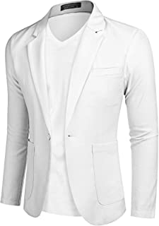 Suchergebnis auf für: weißes jacket sakko Herren