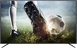 TCL 75 Inch Flat Android 4K-UHD SMART TV  -LED75T8200MUS, Metallic Frame