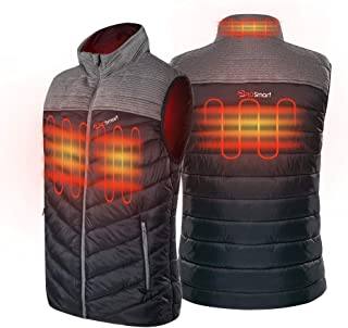 Prosmart Men's Heated Vest Lightweight Heated Waistcoat with USB Battery Pack