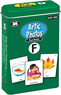 Super Duper Publications Articulation Photos F Fun Deck Flash Cards - Revised Photos Educational Learning Resource for Children