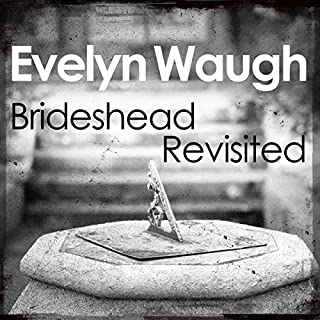 Brideshead Revisited audiobook cover art