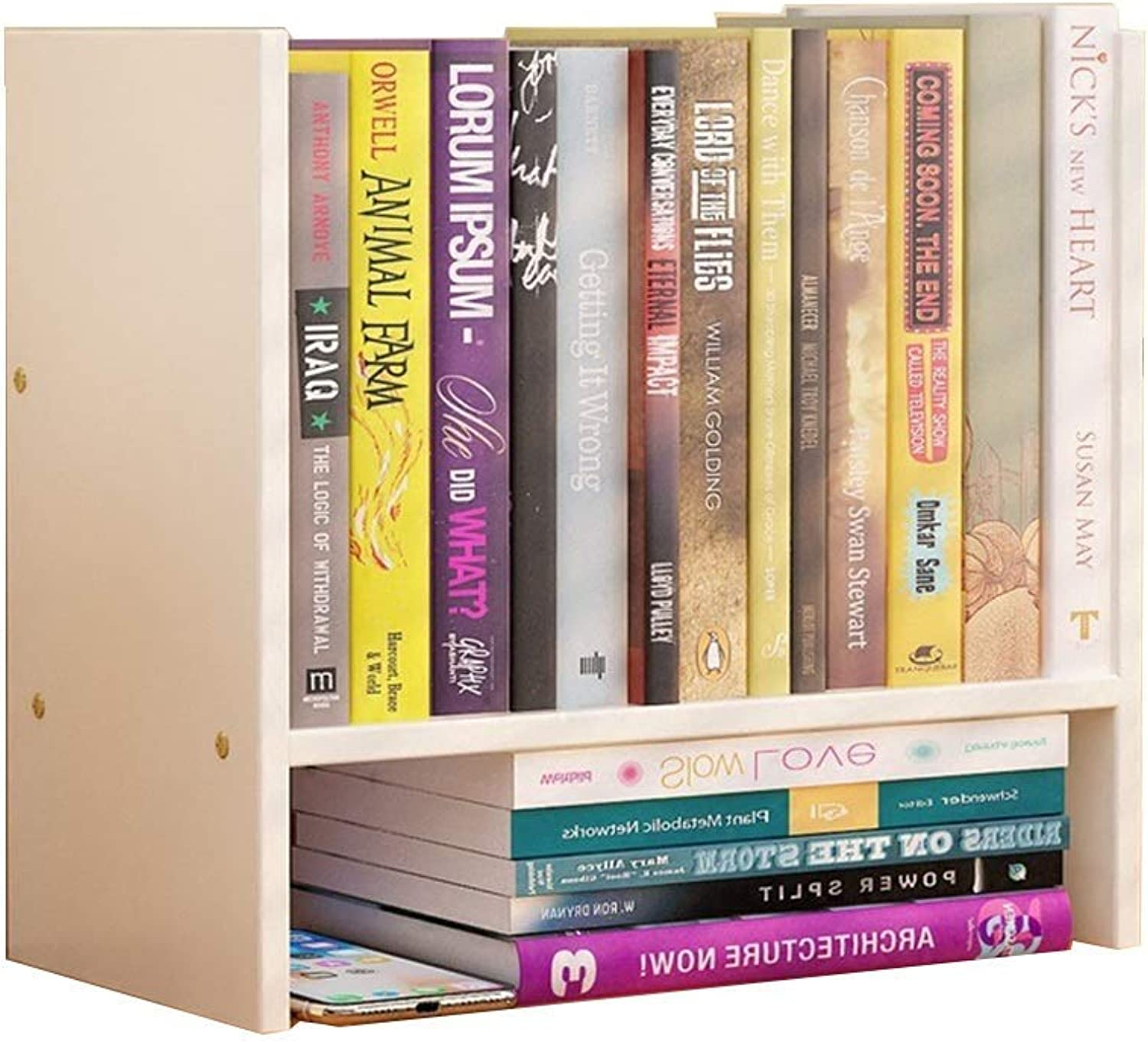 Bookcase - Ledge Wooden Wall Bookshelf Bookcase Wardrobe Bookcase Bedroom Wall Hanging Decoration Creative Pulley Bookcase Simple Bookshelf,A