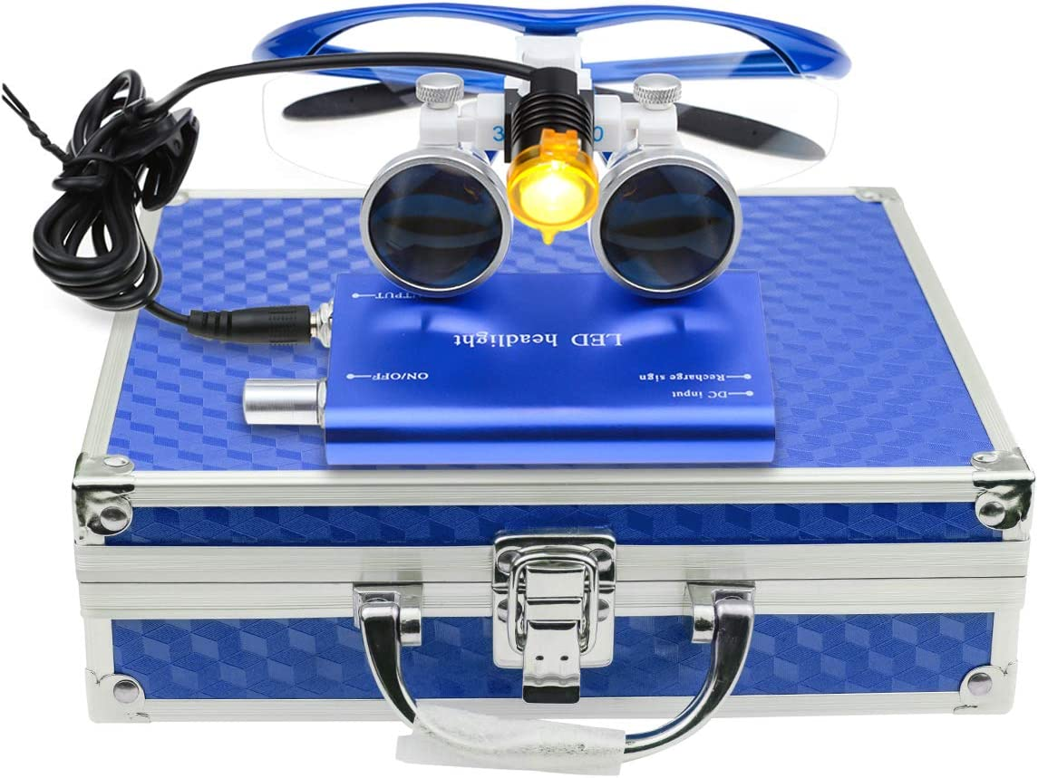 3.5×420mm Surgical Free Shipping Cheap Bargain Gift Medical Binocular Genuine Free Shipping Loupes w Glasses Optical