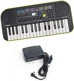 Casio SA-46 -Key Portable Keyboard with Casio Power Supply