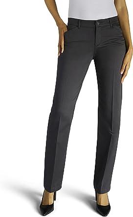 Lee Women's Flex Motion Regular Fit Straight Leg Pant