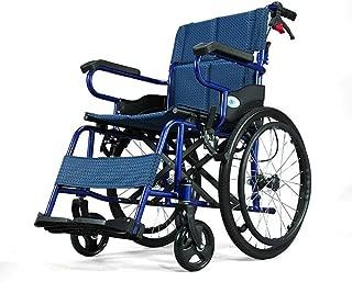 Wheelchair Manual Elderly, Disabled, Rehabilitation Patient Nursing Cart Transport Medical,Self-Propelled Wheelchairs Portable Folding Ergonomic Wheelchair