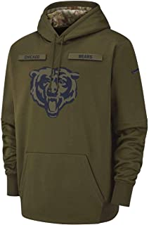 Chicago Bears 2018 Men's NFL Salute to Service Hoody