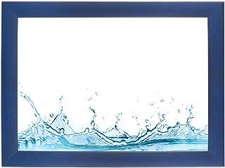 ByMoris A+ 70x120 cm fotolijst in donkerblauw afgeveegd met antireflex acrylglas 35mm