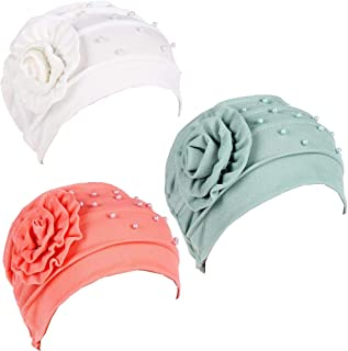3Pack Caps for Women with Chemo Cancer Hair Loss Muslim Headwear