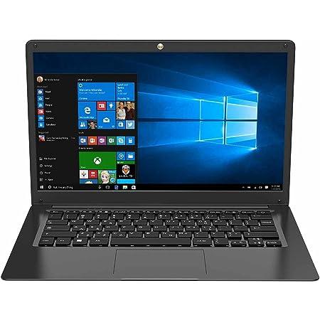 "TECHBITE Portátil ZIN bis de 14,1"", 64 GB EMMC, portátil de Oficina, portátil Delgado, Gran Panel táctil, Windows 10 Pro, HD TN, Intel Celeron N3450 de Cuatro núcleos, 5000 mAh, Teclado QWERTY"