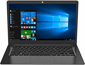"TECHBITE Portátil ZIN bis de 14,1"", 64 GB EMMC, portátil de Oficina, portátil Delgado, Gran Panel táctil, Windows 10 Pro, ..."