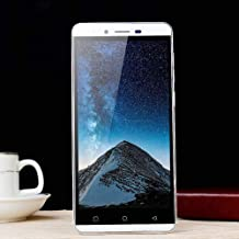 Unlocked Mobile Phone, Androidphone5.0''Ultrathin Android5.1 Quad-Core 512MB+4G GSM WiFi Dual Smartphone Cellphone (White)