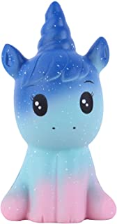 Anboor Squishies Unicorn Horse Galaxy Squishy Slow Rising Squeeze Toys Stress Relief Kawaii Squishies Animal Toys Prime Gi...