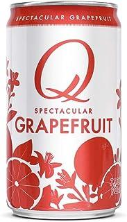Q Grapefruit, Premium Sparkling Grapefruit: Real Ingredients & Less Sweet, 7.5 Fl oz, 24 Cans