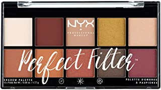 NYX Professional Makeup Palette Ombretti Perfect Filter, 10 Ombretti, Rustic Antique