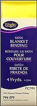 Wrights Single Fold Satin Blanket Binding 2 Inch 4 3/