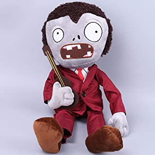 sagusi 12'' Tall Plants Vs Zombies 2 Figures Plush Toy Dancing Zombie PVZ Soft Stuffed Doll Baby Gift