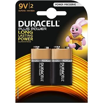 Duracell 2 Batterien 3 Blisters Duralock 9 V Mn1604 6lr61 Power Plus Bürobedarf Schreibwaren