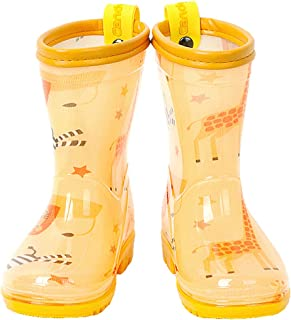 Candy-Baby Kids Boys Girls PVC Rain Boots/Rain Boots for Children