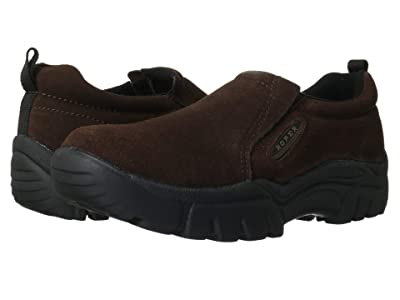 Roper Performance Slip On (Brown Suede) Men