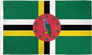 Dominica Flag 3' x 5' - Dominican Flags 90 x 150 cm - Banner 3x5 ft - AZ FLAG