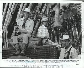 Historic Images - 1981 Press Photo Bo Derek, Richard Harris, John Law Star in Tarzan, The Ape Man