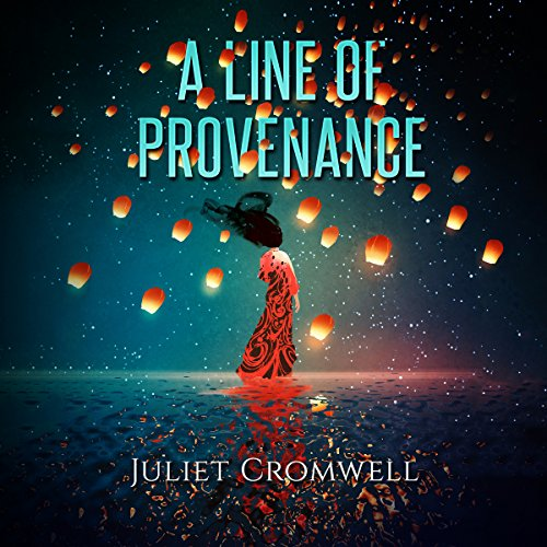 A Line of Provenance audiobook cover art
