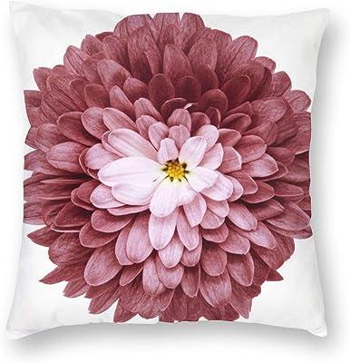 Amazon.com: Cojín de Flor - Almohada decorativa - Almohada ...