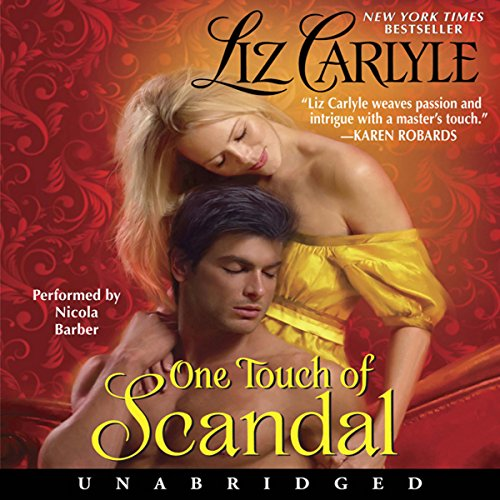 One Touch of Scandal audiobook cover art