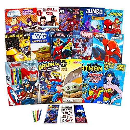 Superhero Ultimate Coloring Book As…