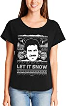 Haase Unlimited Let It Snow - Famous Drug Lord Ugly Christmas Ladies Dolman