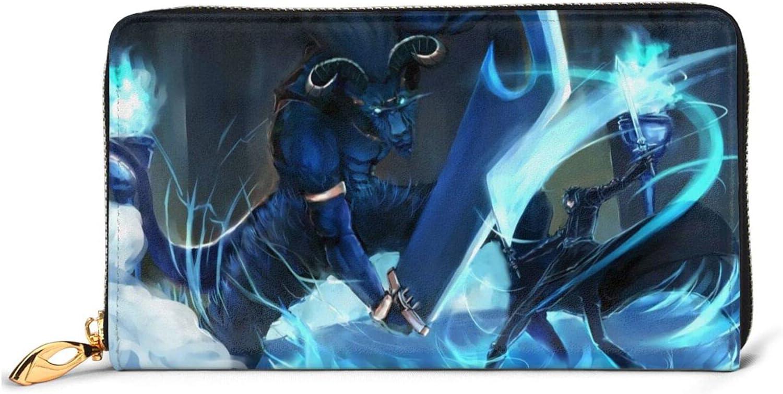 Anime Sword Art Online Kirito Trust Men i Max 53% OFF Fashion Leather Women Wallet