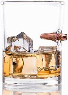 KOBWA Vasos de Whisky, Cristalería de Vino Cristal Premium sin Plomo Cócteles, 250ml/