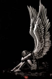 Pyramid America Spiral Enslaved Fallen Angel Fantasy Art Cool Wall Decor Art Print Poster 24x36