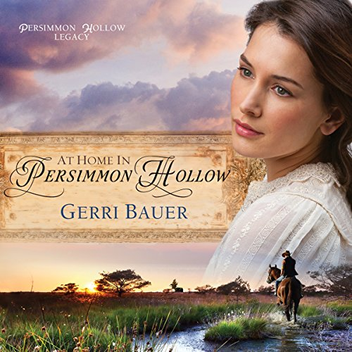 At Home in Persimmon Hollow audiobook cover art