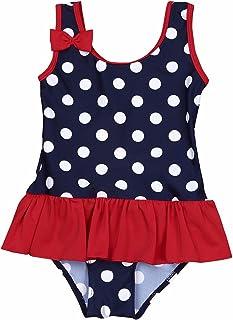 Xuanha Badeanzug Baby M/ädchen Badebekleidung /ärmelloser mit Blumen bedruckter Bikini Einteiliger Badeanz/üge Strand Jumpsuit Schwimmanzug