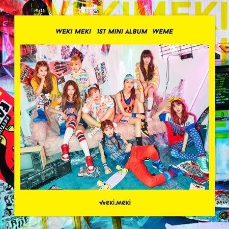 Weki Meki-[WEME] 1st Mini Album CD+Digipak+Booklet+PhotoCards+ProfileCard Sealed
