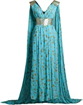 daenerys blue qarth dress