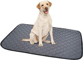 ペットシーツ 洗える 猫 犬用 おしっこパッド ペット用 トイレ下敷きマット 速乾 洗える 脱臭 抗菌(グレーL 二枚セット)