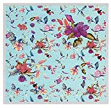 Novia - Tela decorativa para sofá,   Tamaño   Gran Foulard Funda de sofá multiusos (cubre sillón, colcha, cortina, picnic, lonas grandes de algodón y poliéster – (Rose T814, 260 x 270 cm)