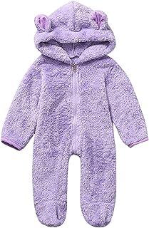 Christmas Merry Wishes Newborn Baby Snowsuit Warm Fleece Hooded Romper Jumpsuit Hoody Coat Winter Infant Rompers Toddler C...