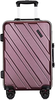 SMLCTY Trolley Case,Trolley Bag Practical and Beautiful All Aluminum Magnesium Alloy Trolley Case,Practical and Beautiful Aluminum Frame Mute Caster Suitcase20 Inches, 24 Inches
