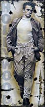 Bill Mack Unique Painting of James Dean on The Original Hollywood Sign Entitled, Dean of Cool